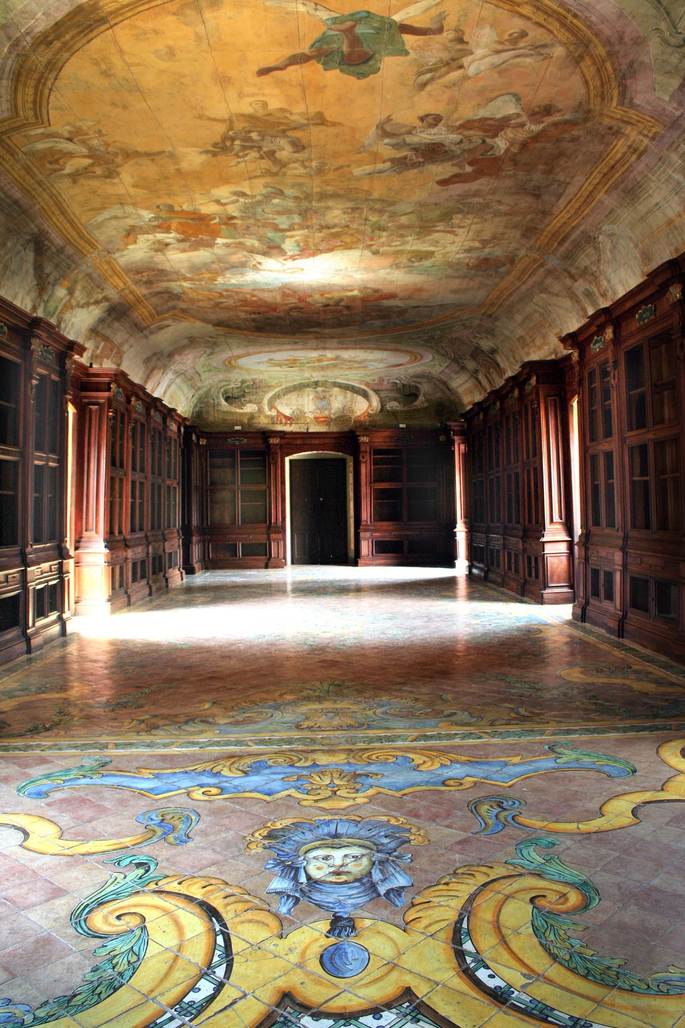 Biblioteca della Certosa di San Lorenzo