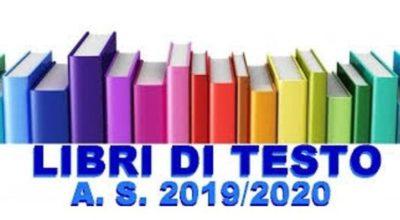 """""""FORNITURA LIBRI DI TESTO"""" Anno Scolastico 2019/2020  AVVISO"""