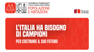Censimenti permanenti  – l'Italia, giorno dopo giorno