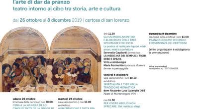 """L'Arte di dar da Pranzo – workshop """"Alimentazione e dieta fra scienza e fake news"""""""