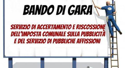 Servizio di accertamento e riscossione dell'imposta comunale sulla pubblicità e del servizio di pubbliche affissioni