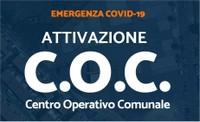 Emergenza COVID-19. Attivate le funzioni del Centro Operativo Comunale