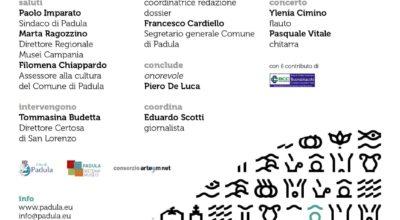 La Certosa del Terzo MillenniocuorediPADULA NETWORK  – Progetto diCandidatura di Padula a CapitaleItaliana dellaCultura 2022