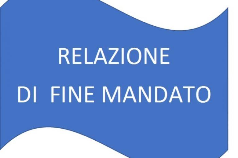 RELAZIONE DI FINE MANDATO ANNI 2016-2020