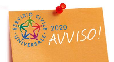 Rettifica calendario colloqui di selezione Servizio Civile Universale Bando 2020