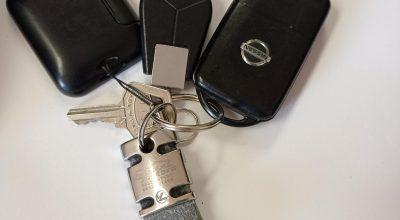Avviso ritrovamento mazzo di chiavi